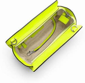 Michael Michael Kors Medium Selma Messenger in Yellow