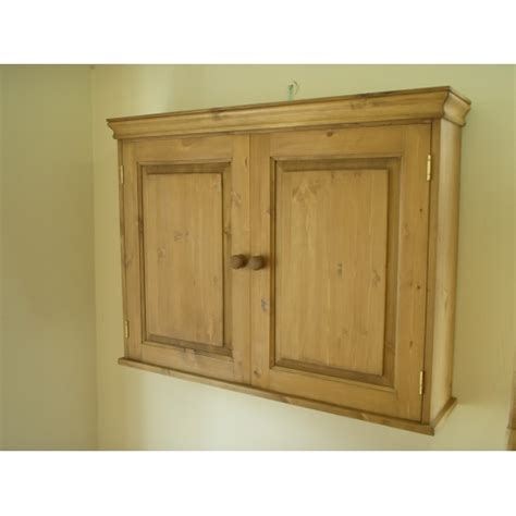 Pine Cupboard Door by Pine 2 Door Wall Cupboard W90cm