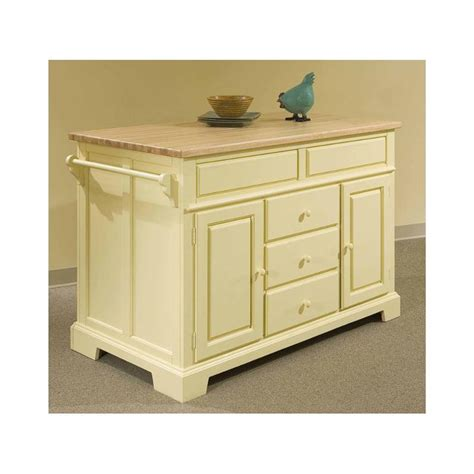 5209505 Broyhill Furniture Kitchen Island  Canary