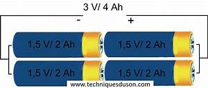 Batterie En Serie : mise en s rie mise en parall le ~ Medecine-chirurgie-esthetiques.com Avis de Voitures