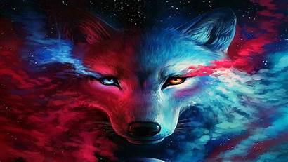 Wolf Galaxy Wallpapers Fantasy Platform