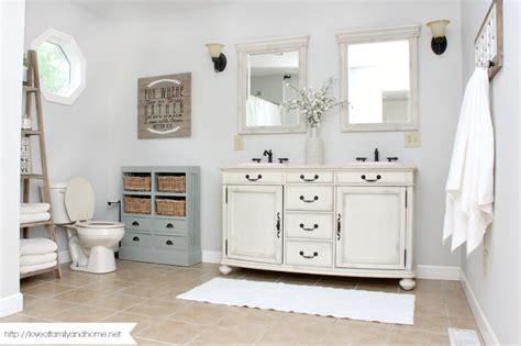 farm style bathroom farmhouse style bathroom makeover love of family home