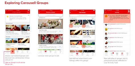 carousells  feature carousell groups full user guide