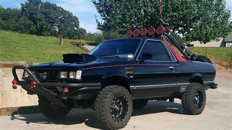 high riding  subaru brat gl lift