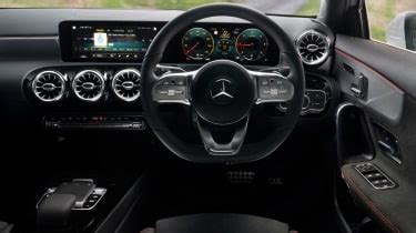 The mercedes benz a200 sedan reach our hands, lets see how it drives. Mercedes A-Class hatchback 2020 - Interior, dashboard ...