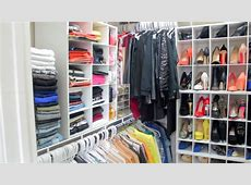 Peakmill's Closet Tour 2014 How I Organize My Clothes