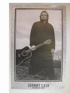 Johnny Cash Poster : johnny cash poster man in black american legend ebay ~ Buech-reservation.com Haus und Dekorationen