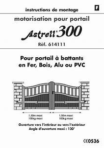 Telecommande Portail Xp 300 : notice avidsen astrell 300 trouver une solution un ~ Edinachiropracticcenter.com Idées de Décoration