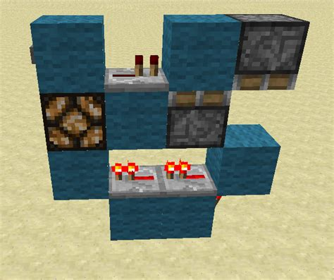 Glowstone Lamp Post by How To Make A Button Work Like A Lever Redstone