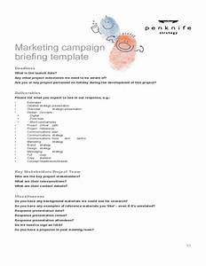 sample marketing campaign template free download With promotional campaign template