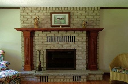 brick fireplace painting ideas brick anew fireplace products