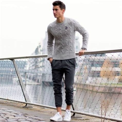 22 Cool Men Outfits With Jogger Pants - Styleoholic