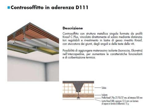 Controsoffitto Sezione by Realizzazione Di Soffitti In Cartongesso Tipi E Materiali