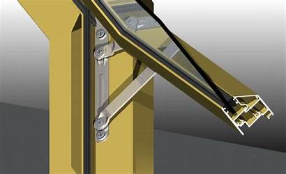Casement Bar Friction Latch Awning Window Steel