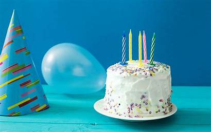 Birthday Cake Background Happy Candles Wallpapers Congratulation