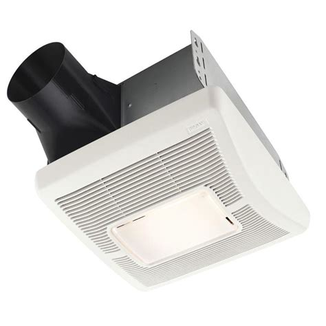 3 sones bathroom fan shop broan 1 3 sone 110 cfm white bathroom fan at lowes com