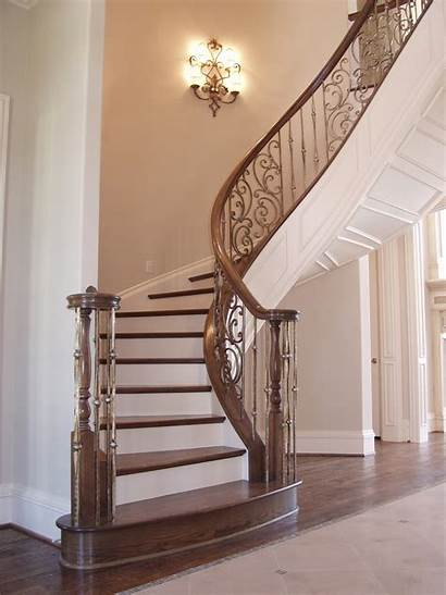 Stairs Iron Panels Gothic Stair Spiral Wrought