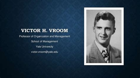 victor  vroom theory  expectancy