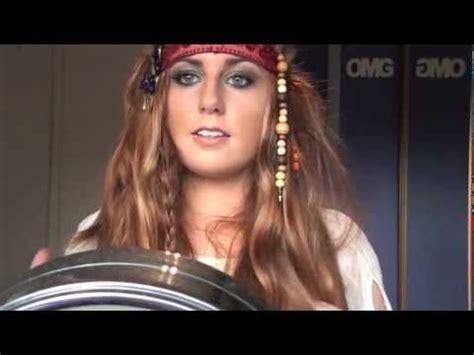 pirates   caribbean  makeup hair  costume youtube