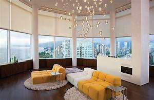Contemporary and modern lighting living