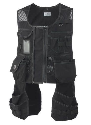 synfiber tool vest sturdy  cool featuring detatchable