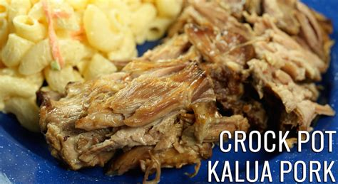 crock pot kalua pork recipe dishmaps