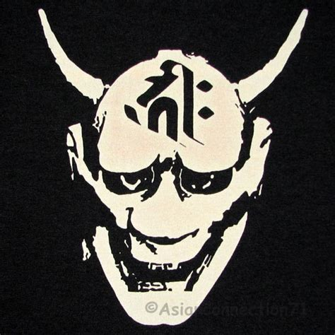 demon kanji script ronin japan tokyo yakuza  gangster