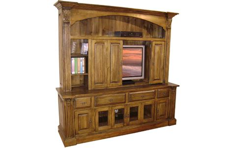Armoire For Tv With Doors by Country Provincial Tv Armoire With Bifold Doors