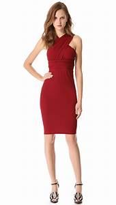 Dressing New York : donna karan new york infinity dress in red pomegranate lyst ~ Dallasstarsshop.com Idées de Décoration