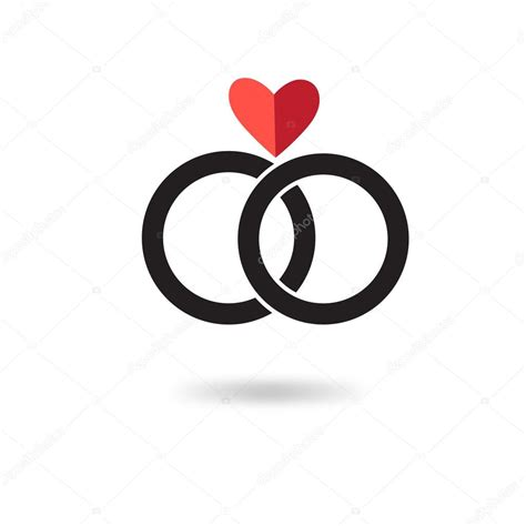 graphic engagement rings sign stock vector 169 tanor