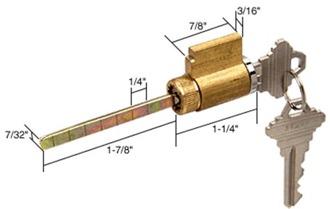 1 1 4 cylinder lock for schlage e2103 30 80 patio