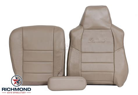 Richmond Auto Upholstery by 2005 Ford Excursion Limited Leather Seat Cover Driver
