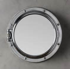 porthole mirror on