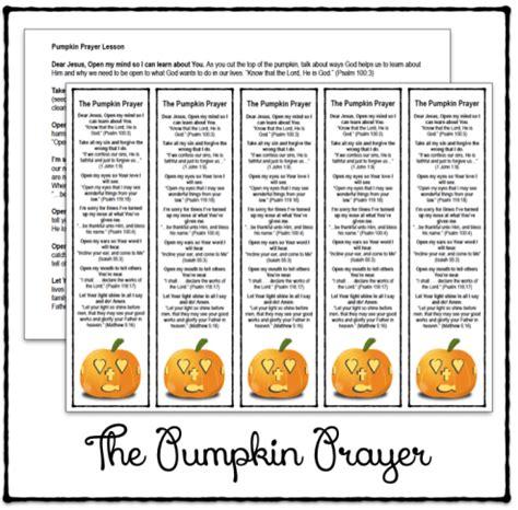 the pumpkin prayer bookmarks and lesson printable 977 | 4beeb639762b4d3da0560e0ed4defdd5