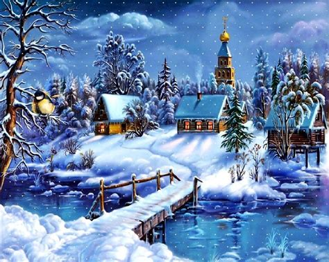 Animated Winter Wallpapers Free - animated winter free animated winter desktop wallpaper