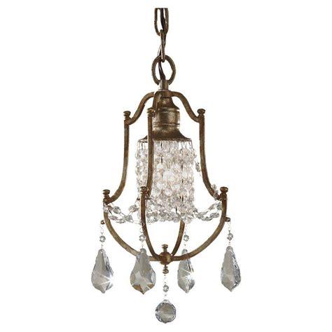 mini bronze chandelier feiss maison de ville 1 light bronze mini