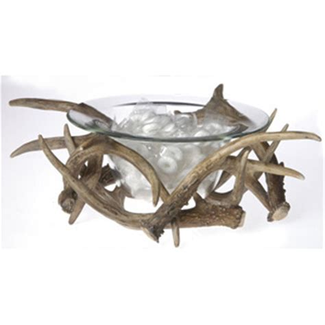 faux antler floor l big sky carvers faux antler candy dish 123127