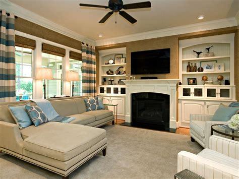 classic simple family room rebecca driggs hgtv