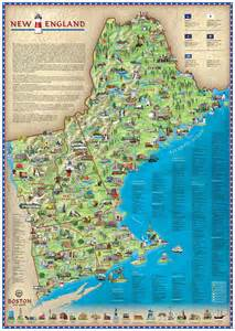 New England Map Attractions