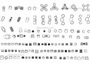 Chairs And Armchairs DWG Free CAD Blocks Download