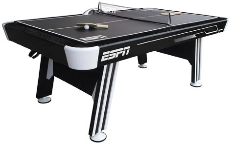 pool table air hockey ping pong combo air hockey table tennis top espn ping pong combo pool