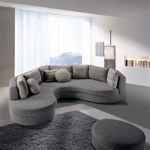 Canapé d'angle arrondi Ravel ARREDACLICK