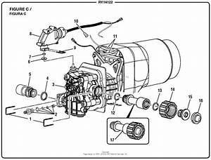 Homelite Ry14122 Pressure Washer Parts Diagram For Figure C