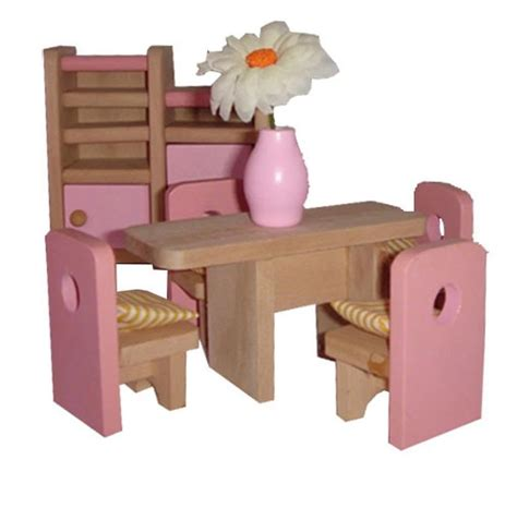mamakiddies pink wooden doll house    pm