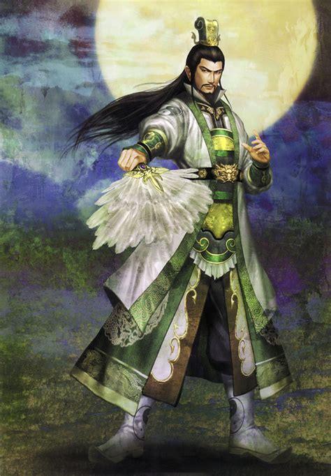 zhuge liang shu characters art dynasty warriors