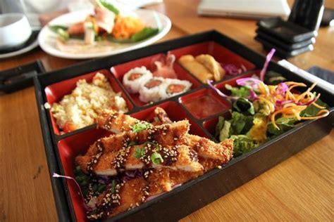 bento teriyaki chicken crab recipe sparkrecipes