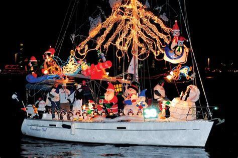 designing  holiday lights display   boat boatus