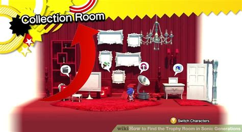 find  trophy room  sonic generations  steps