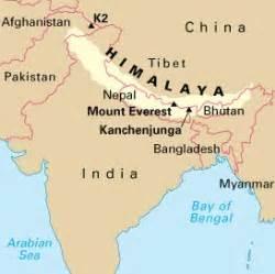 where are the himalayas mountain range himalayan
