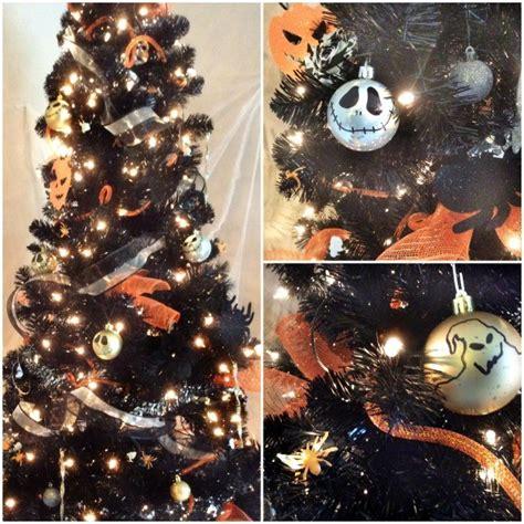 diy nightmare before christmas halloween tree